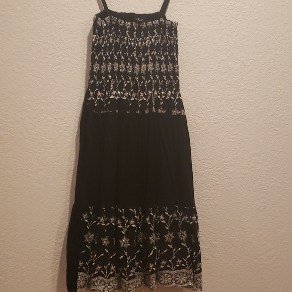 Black and White Sequin Dress